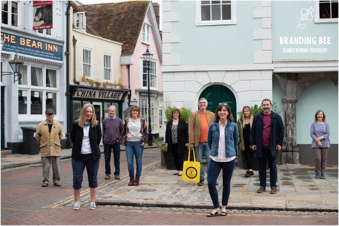 Branding and corporate photography for the Faversham Traders